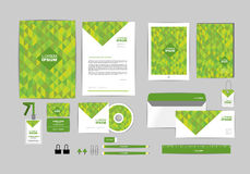 Corporate identity template for your business O Royalty Free Stock Images
