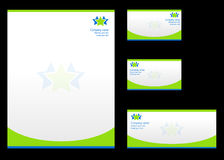 Corporate identity templates Stock Image
