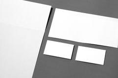 Corporate identity templates Stock Photography