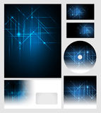 Corporate identity templates Royalty Free Stock Photos