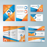 Corporate identity templates, With blank, name Stock Photo