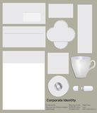 Corporate identity templates. Royalty Free Stock Photo