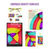 Corporate identity templates Stock Photo