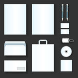 Corporate identity templates Stock Photography