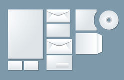 Corporate identity templates 01 Stock Photos