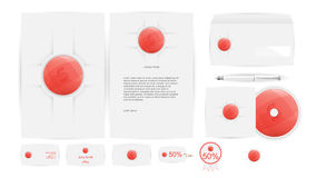 Corporate Identity Templates in Vector Stock Images