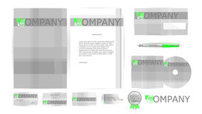 Corporate Identity Templates in Vector Royalty Free Stock Photos