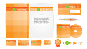 Corporate Identity Templates in Vector Stock Photo