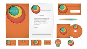 Corporate Identity Templates in Vector Stock Image