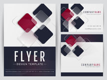 Corporate identity templates. Vector set. Royalty Free Stock Images
