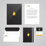 Corporate identity Timber Company design template. Perfect for your business. Stock Photos