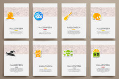 Corporate identity vector templates set with royalty free illustration