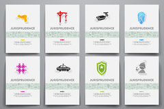 Corporate identity vector templates set with Stock Photography
