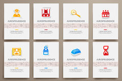 Corporate identity vector templates set with Royalty Free Stock Photo