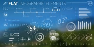 Corporate Infographic Vector Elements Collection. Corporate Infographic Elements is an excellent collection of vector graphs, charts and diagrams stock illustration