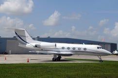 Corporate jet airplane Royalty Free Stock Photos