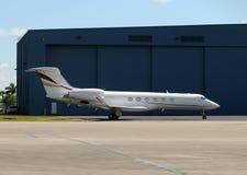 Corporate jet airplane Stock Photos
