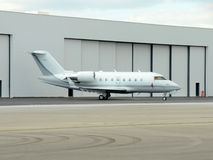 Corporate jet airplane Royalty Free Stock Photo