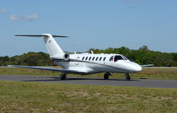 Corporate jet airpplane Stock Photography