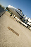 Corporate jet bailout Royalty Free Stock Images