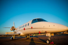 Corporate jet. Royalty Free Stock Images