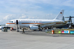 Corporate Jetliner Airbus A319 CJ Bundesrepublik Deutschland Royalty Free Stock Images