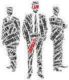 Corporate law. Concept related to different areas of law. Stock Photos