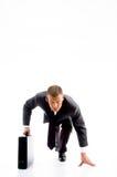 corporate lawyer race ready smart young Στοκ εικόνα με δικαίωμα ελεύθερης χρήσης