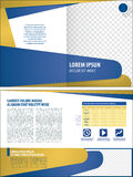 Corporate layout template Royalty Free Stock Image