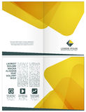 Corporate layout template Stock Photography