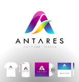 Corporate Letter A Logo Vector Royalty Free Stock Photo