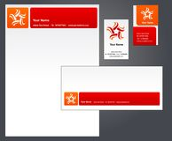 Corporate letterhead template #2 -   Royalty Free Stock Image