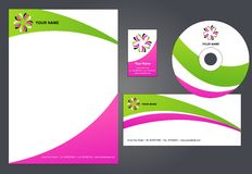 Corporate letterhead template #3 -   Stock Photo