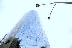 Corporate light (glass tower) Stock Photos