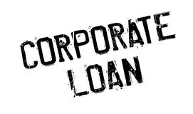 Corporate Loan rubber stamp Stock Photography