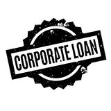 Corporate Loan rubber stamp Stock Photos