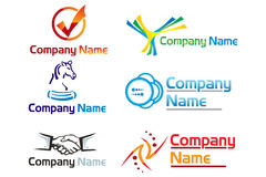 Corporate logo Stock Image