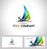 Corporate Logo abstracto Foto de archivo libre de regalías