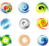 Corporate Logo Design Elements Royalty Free Stock Photo