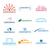 Corporate Logos stock illustration
