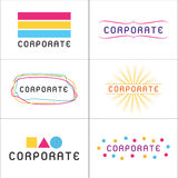 Corporate Logos Stock Photography