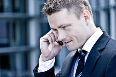 Corporate Man On The Phone Stock Image