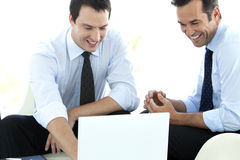 Corporate Managers Teamwork Royalty Free Stock Photography