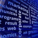 Corporate marketing Stock Photo