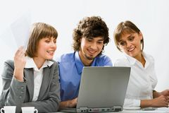 Corporate meeting royalty free stock images