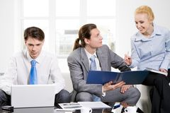 Corporate meeting Stock Image