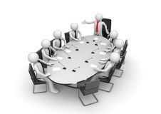 Corporate meeting in conference room Royalty Free Stock Photography