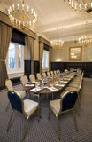 Corporate meeting room. With chairs and tables Royalty Free Stock Images