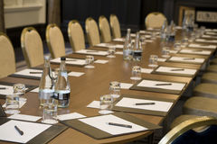 Corporate meeting room Royalty Free Stock Photography
