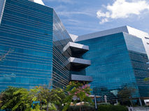 Corporate modern office building Royalty Free Stock Images